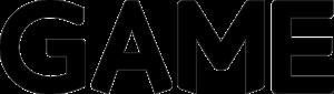 GAME Logo black